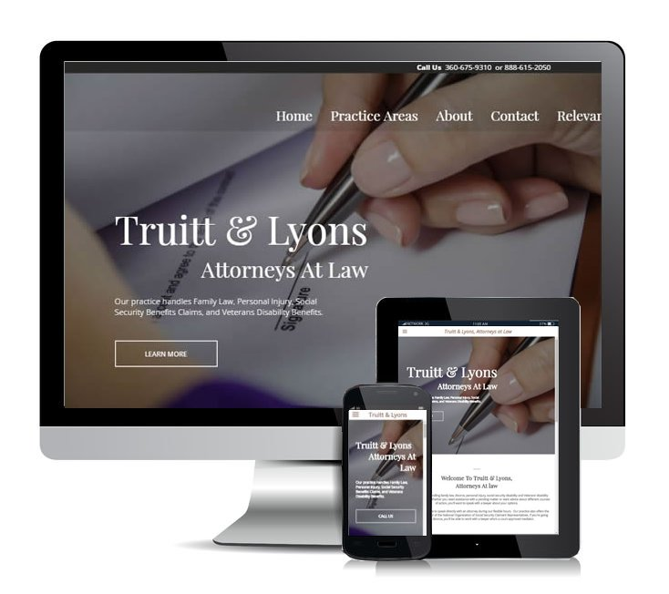 website design and development on Whidbey Island.