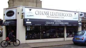 CHANSE store banner