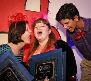 Maddy Cariveau, Delainy Salizar & Trent Buchanan Distinguished Teens Service