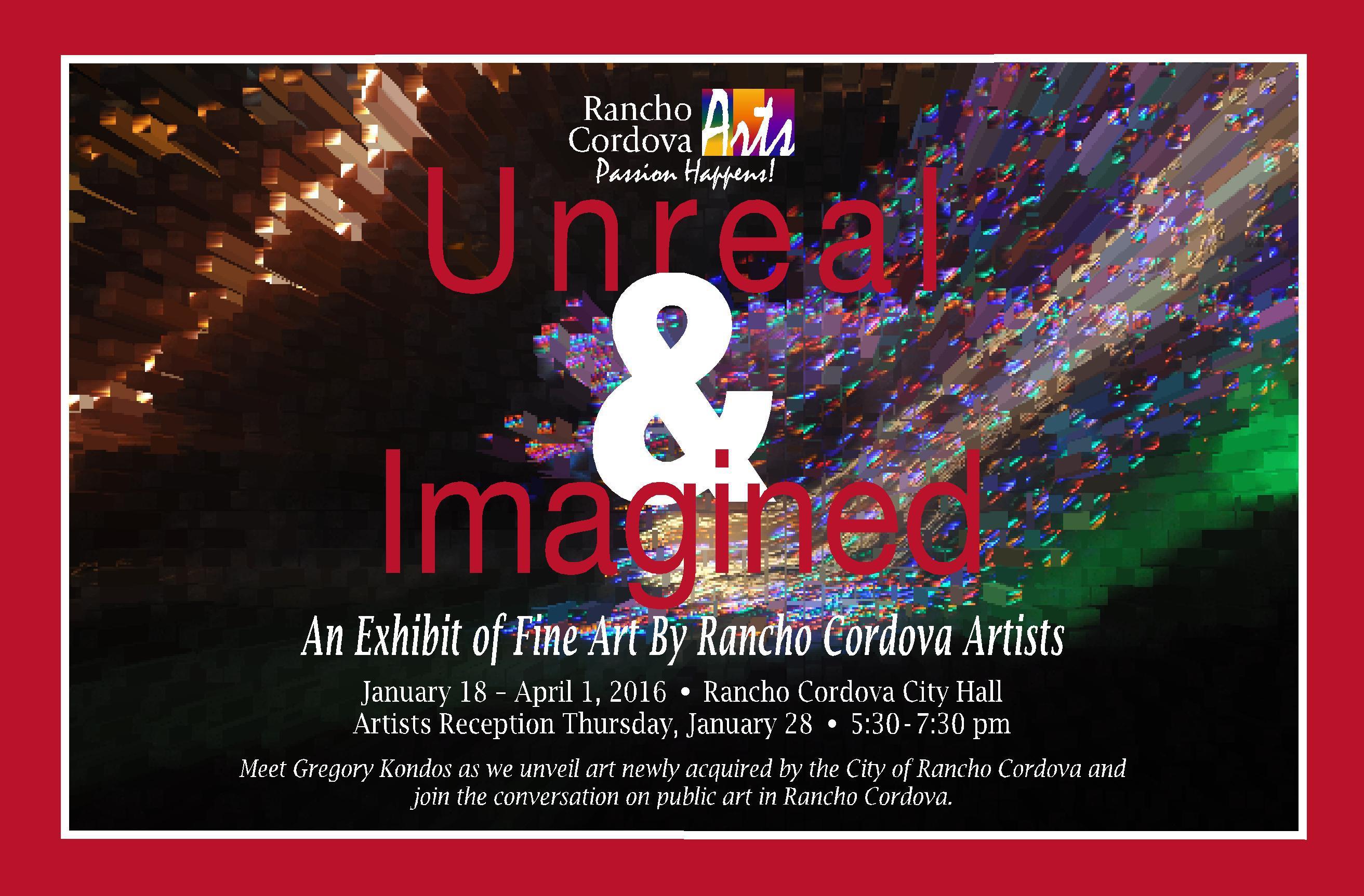 Rancho Cordova Arts Exhibit Real & Imagined image