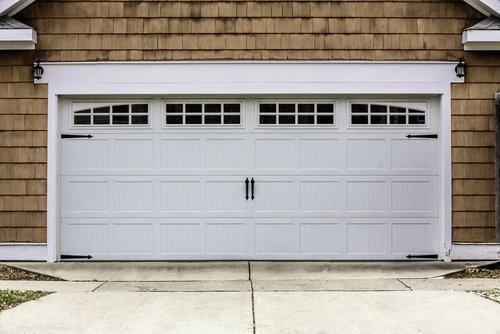 An example of excellent garage door repairs in Fife