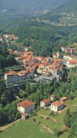 Veduta della città di Bagnone