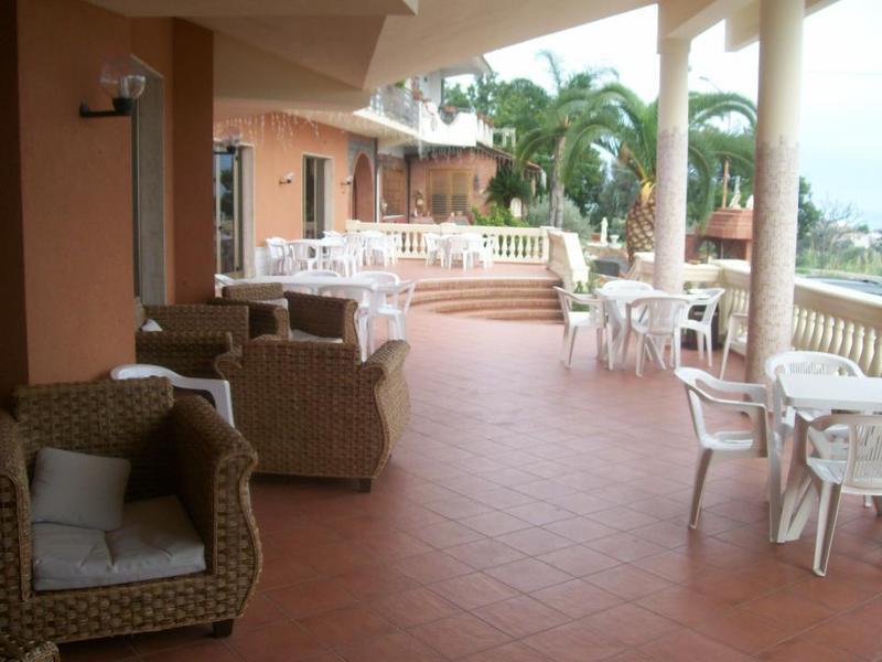 patio del ristorante