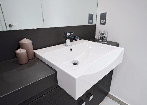 lavabo in un bagno