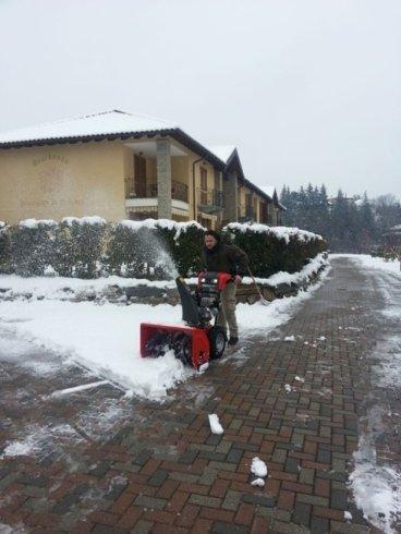 Pulizia neve