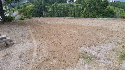 pulizia terreno da infestanti dopo manutenzione