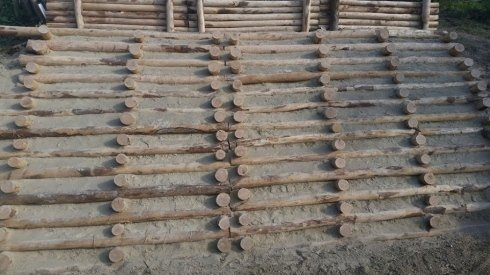 palificazione in legno