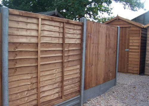 timber fencing panels