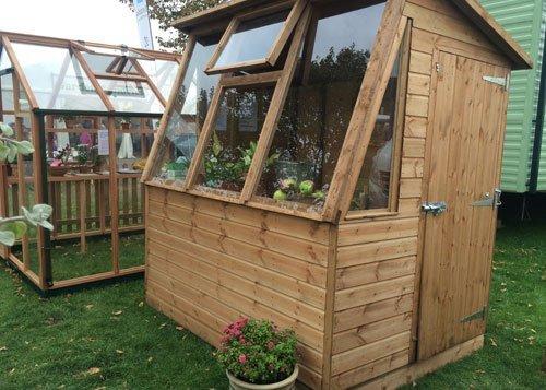 Timber greenhouse