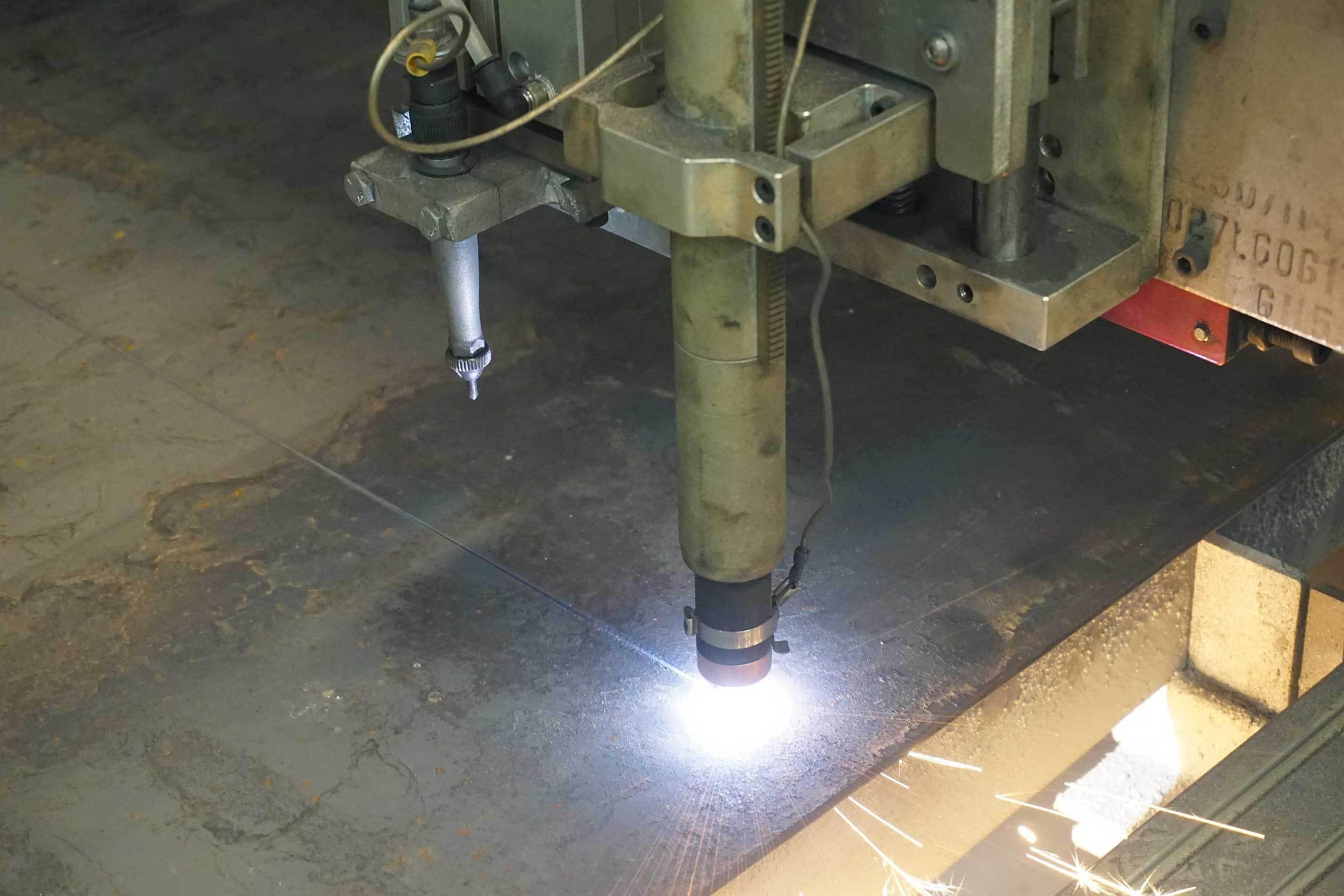 Plasma Cutting by PTR Welding & Fabrication, Denver, Colorado