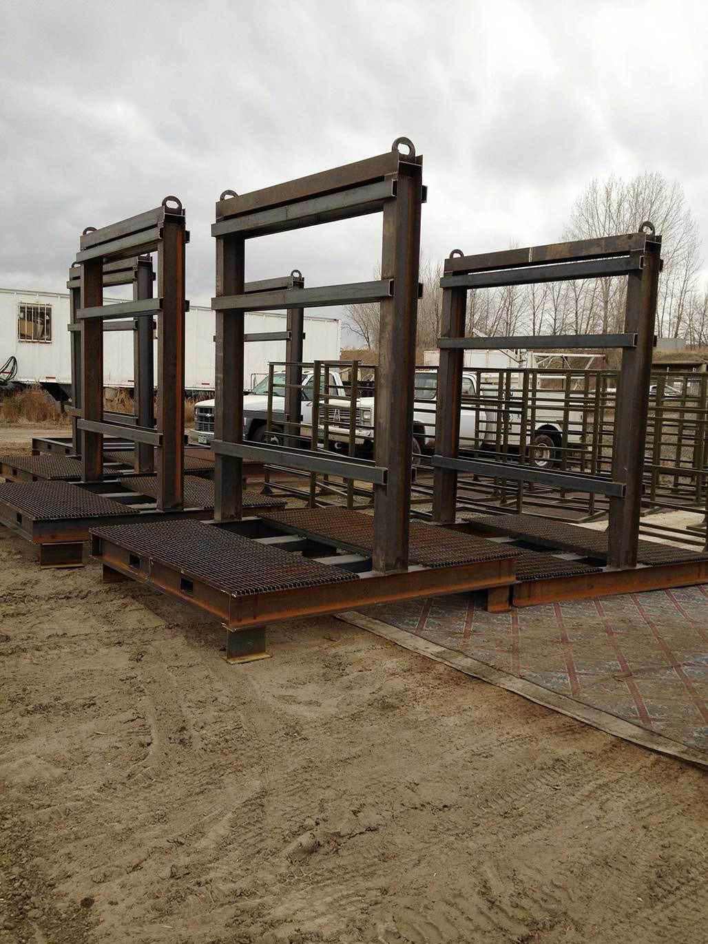 Oil Skids by PTR Welding & Fabrication, Denver, Colorado