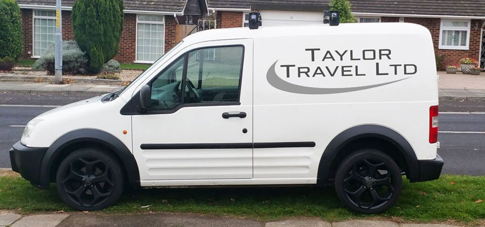 Taylor Travel  Ltd van