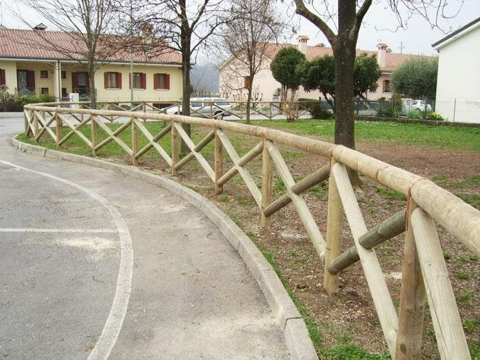 recinzioni e staccionate in legno