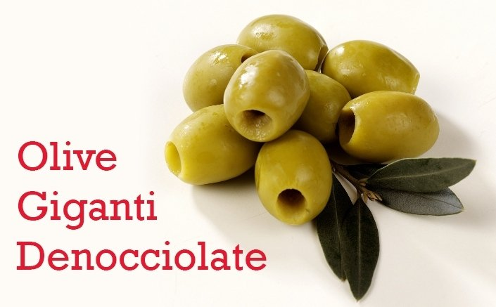 olive giganti denocciolate