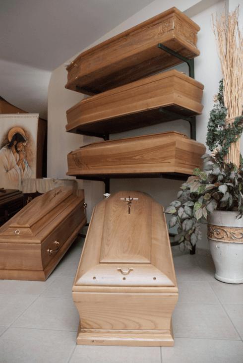 casse funebri in legno massello