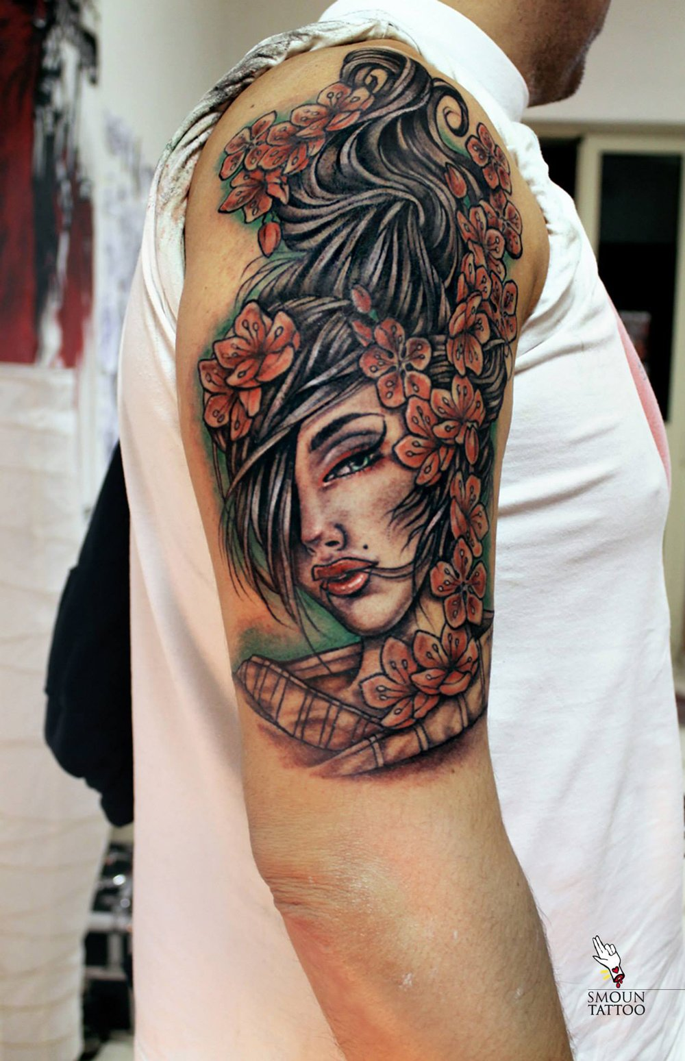 Neotraditional tattoo tatuaggio