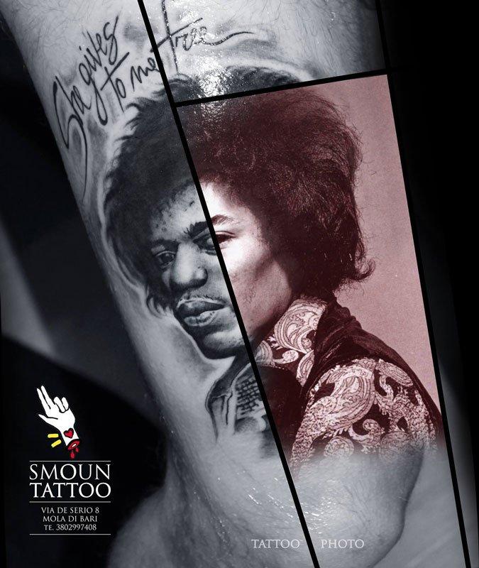 Tatuaggi realistici Smoun Tattoo