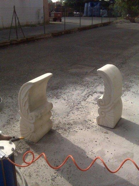 pulizia monumenti