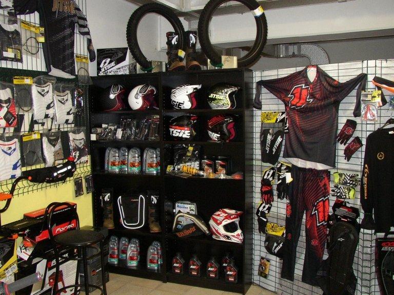 vendita accessori moto