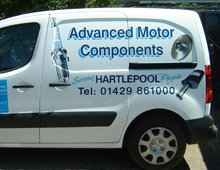 signs and designs - Hartlepool - David Knox Signs & Designs - Galleryvehicle1