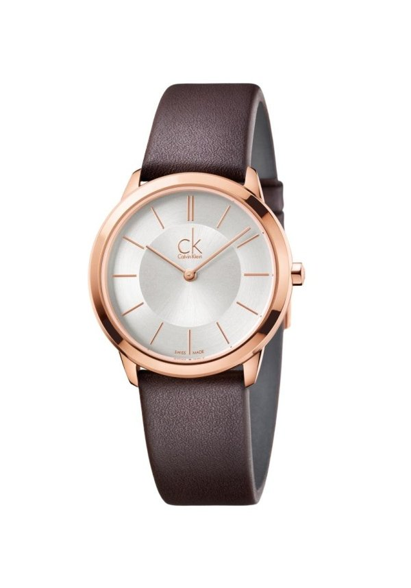 orologio con cinturino pelle