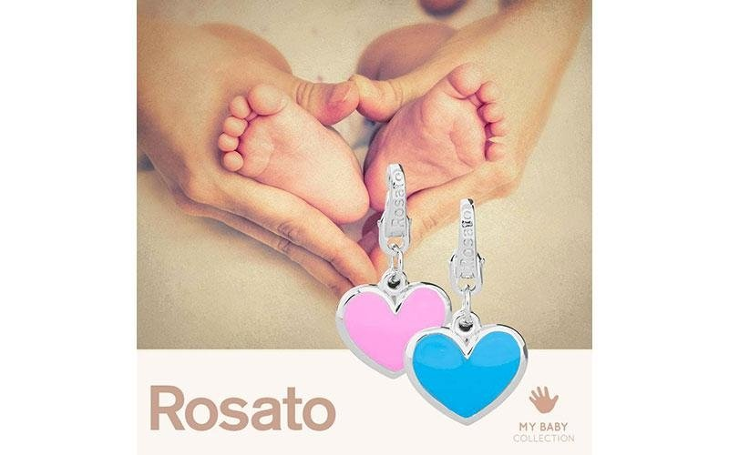 Ciondolo ROSATO gioielli in argento MY BABY collection