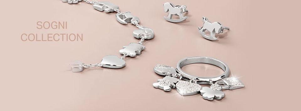 Orecchini bracciali anelli collection