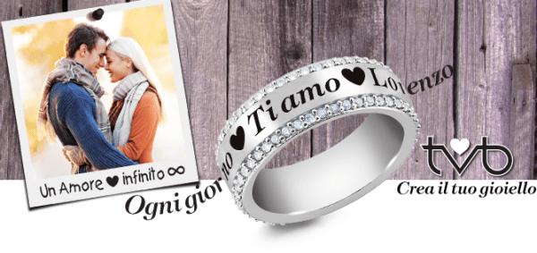 anello in oro personalizzato genova