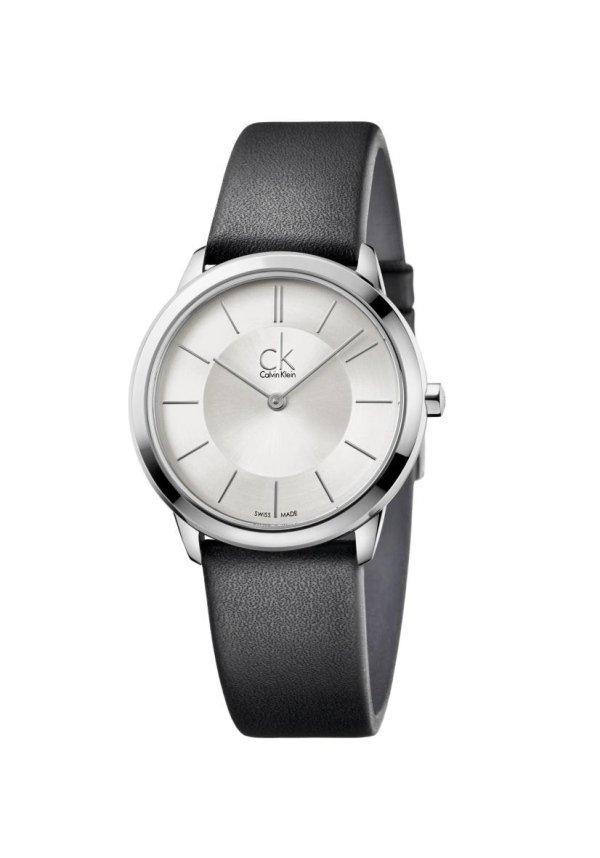 orologio CK quadrante argento