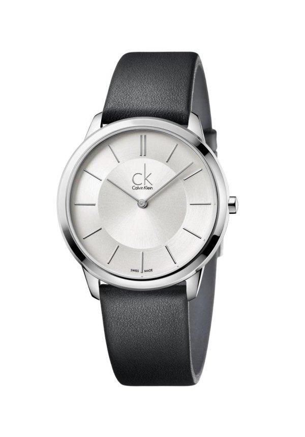 orologio con cassa bordo argento