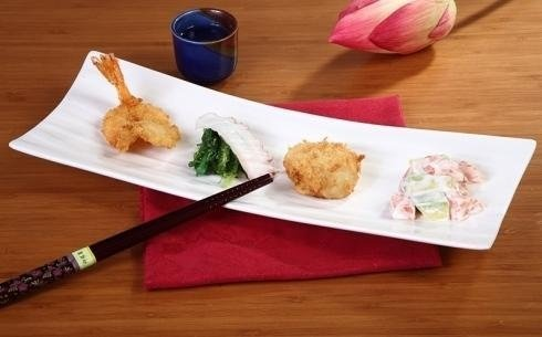 piatto con frittura giapponese