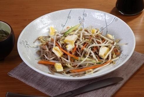 primo piatto con soia