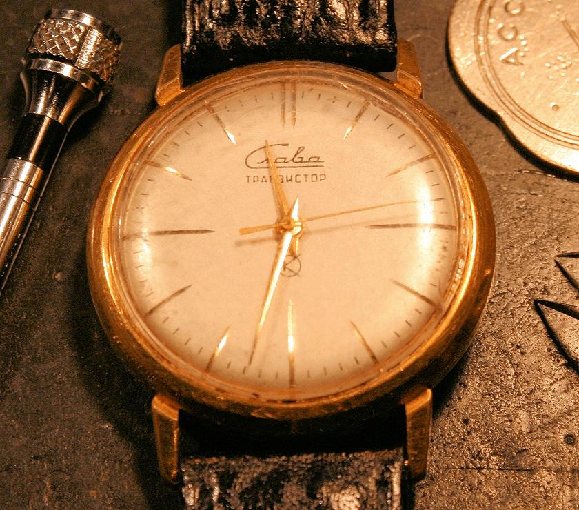 Slava transistor unrestored the time preserve