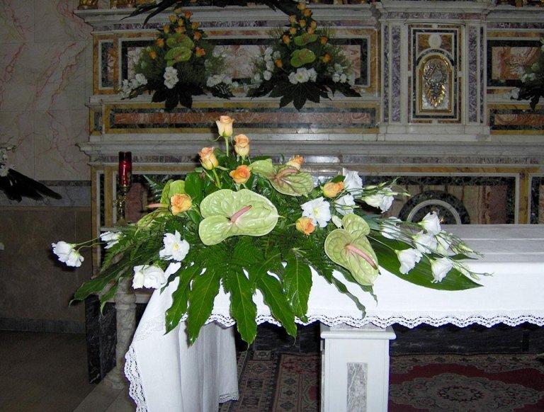 addobbi floreali funerale