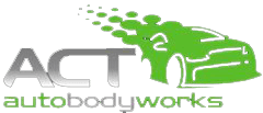 act auto body works logo