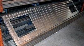 rivestimenti per tubi in pvc, costruzione accessori in acciaio inox per camper, grondaie in alluminio