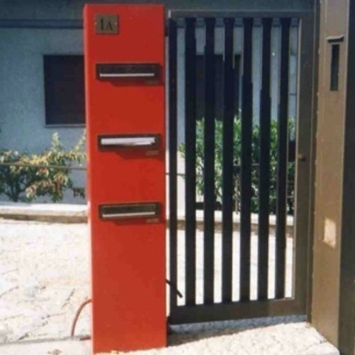 cancello ingresso in ferro
