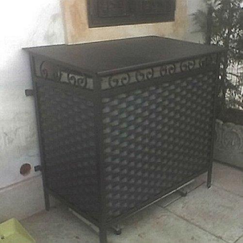 contenitore in ferro per condizionatore