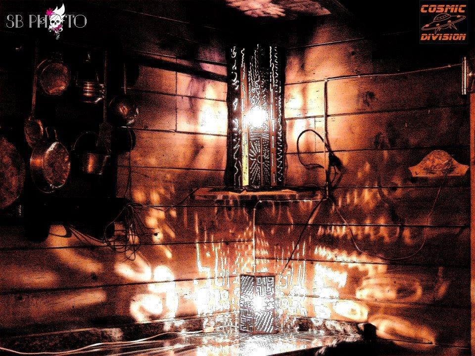 lanterna di ferro con deocrazioni