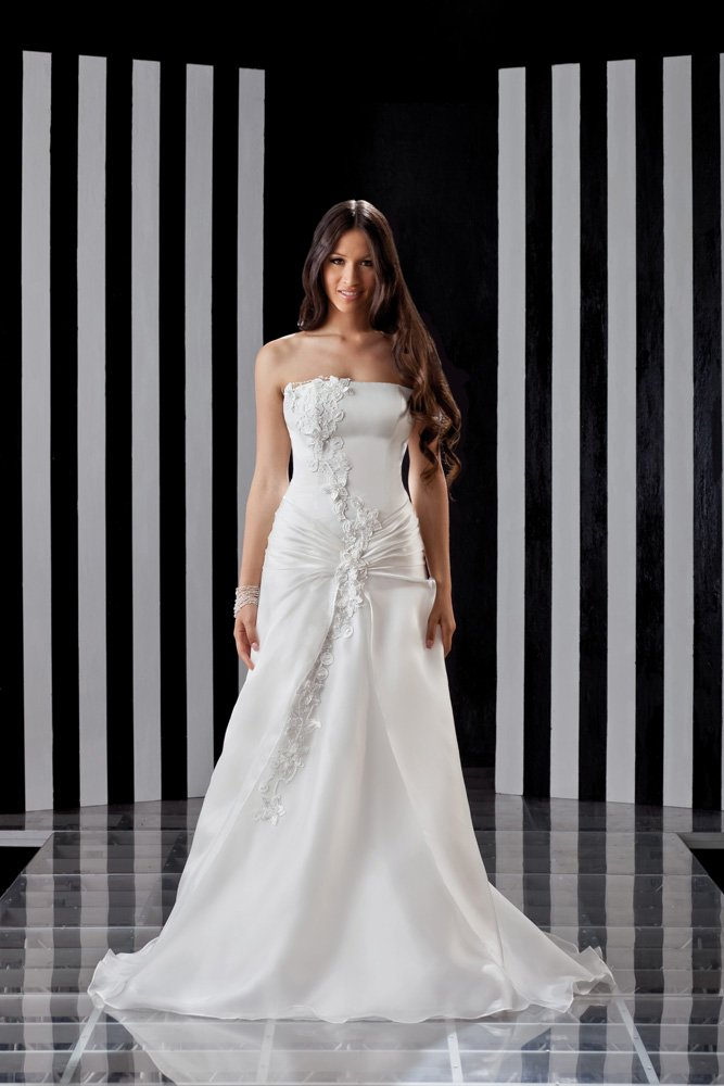 abito da sposa, modello 5