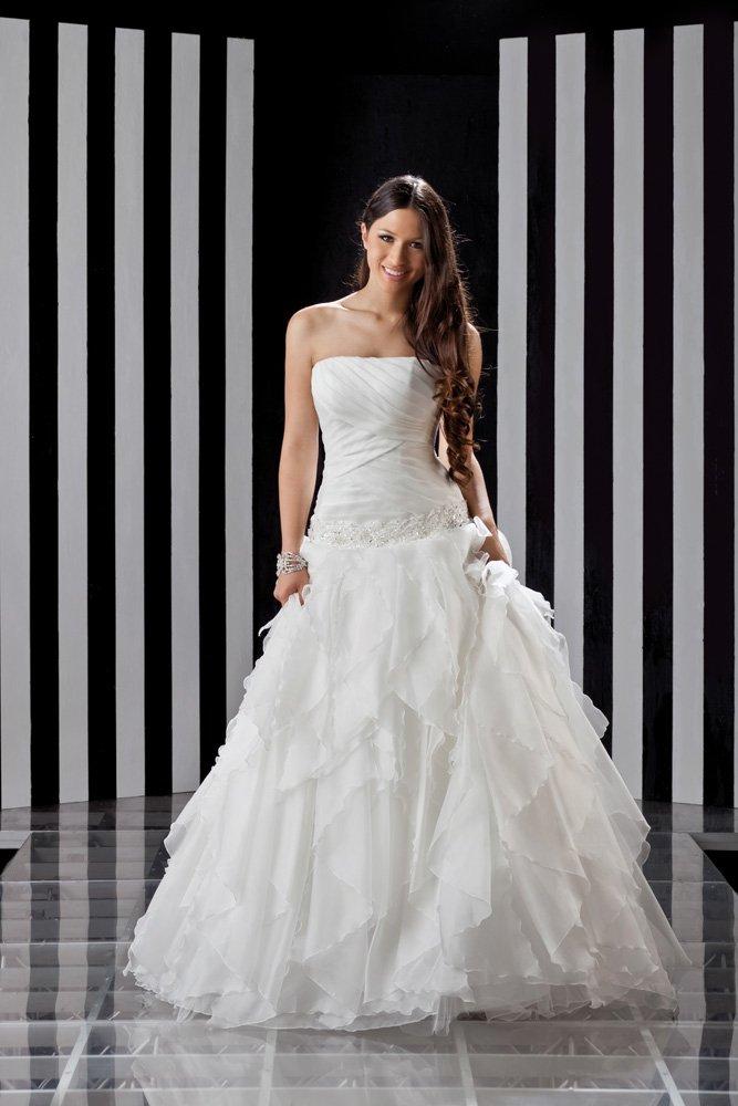 abito da sposa, modello 1