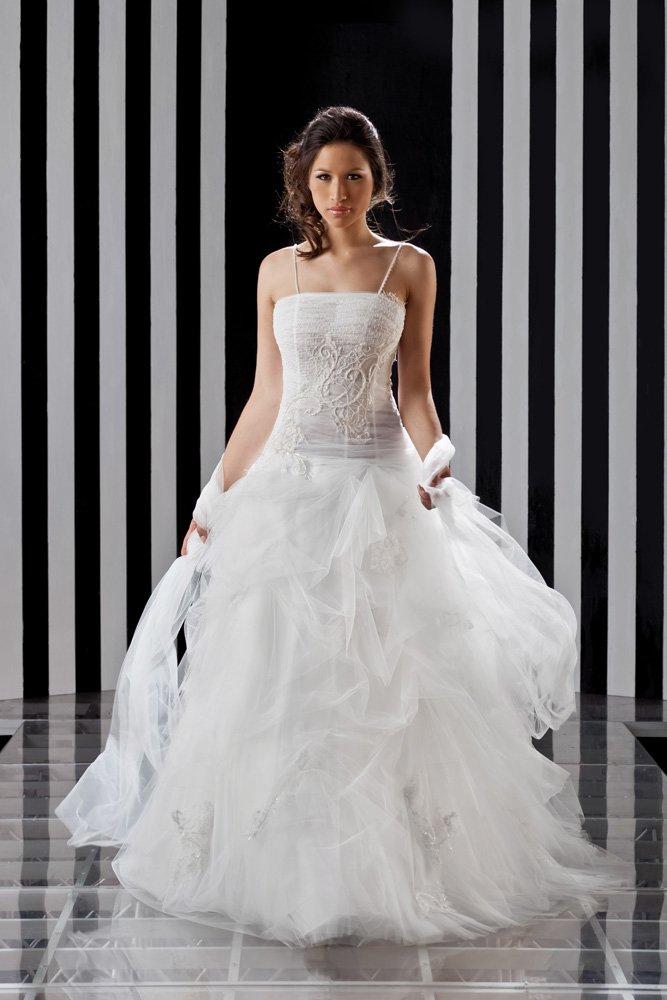 abito da sposa, modello 6