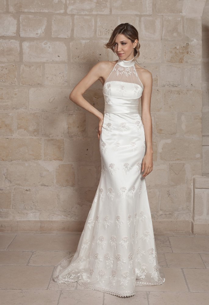abito da sposa, modello 50