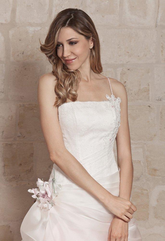abito da sposa, modello 56