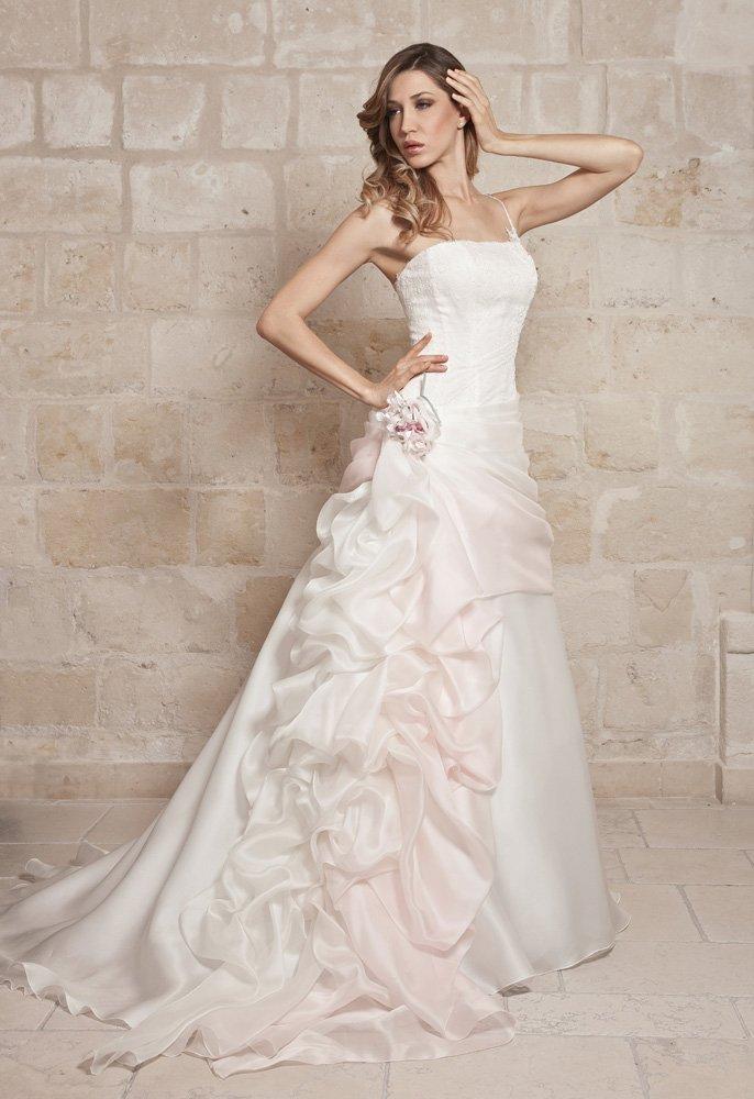 abito da sposa, modello 48