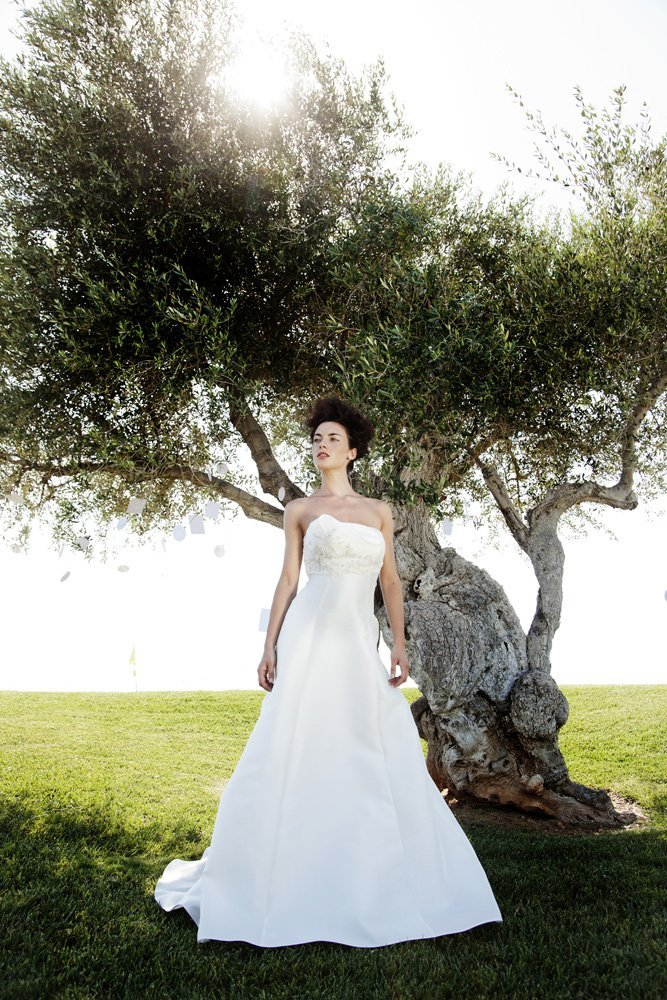 abito da sposa, modello 97
