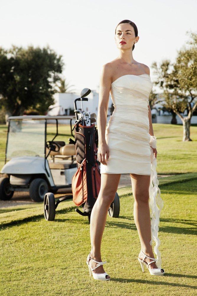 abito da sposa, modello 99
