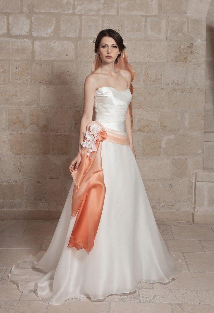 abito da sposa, modello 43