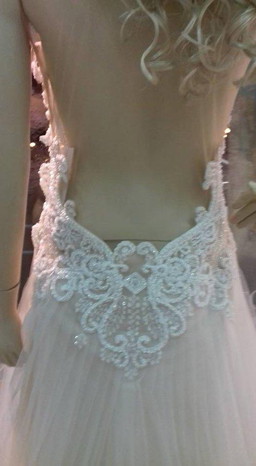 abiti da sposa bianco