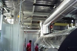 impianti riscaldamento industriali